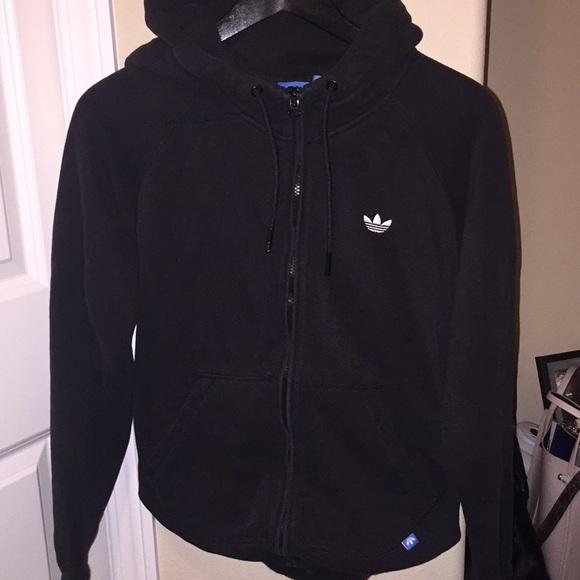 adidas hoodie zip up womens
